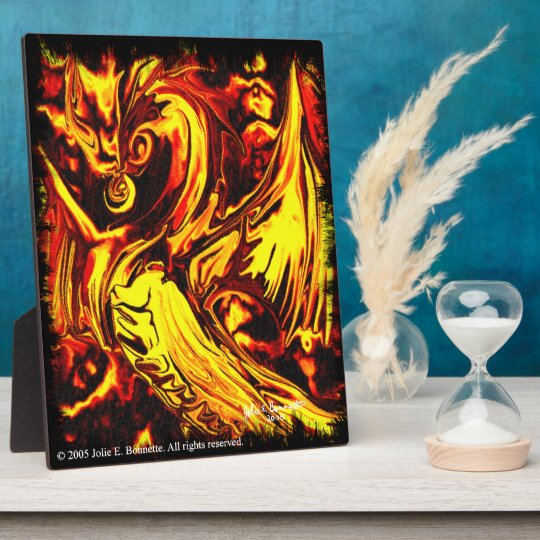 Fire Spirit Plaque
