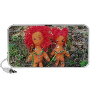 Fire Sprite Dolls Doodle Speakers