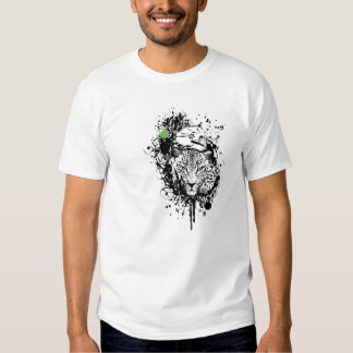 """Fire Star Clothing """"Nature's Watching"""" White Tee"""