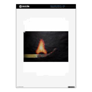 fire starter iPad 2 decals