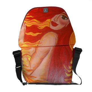 """Fire~Starter"" Rickshaw Messenger Bag"