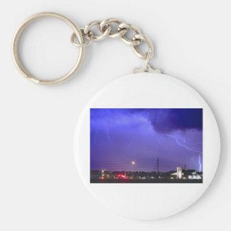 Fire Station 67 Lightning Storm Keychain