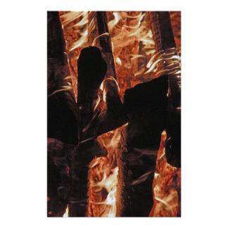 Fire Customized Stationery