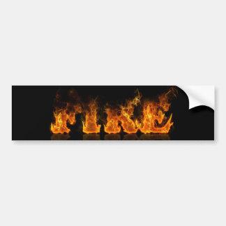 """""""FIRE"""" sticker"""