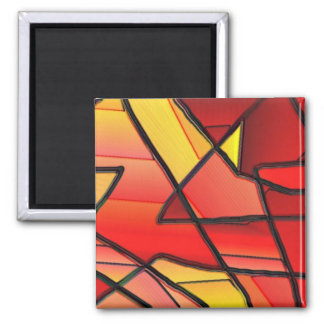 Stained glass window refrigerator magnets zazzle - Eco friendly large glass windows offering effective energy savings for contemporary residence ...