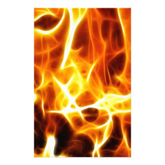 Fire Style Personalized Stationery