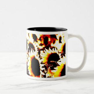 Fire Sunflowers Mug