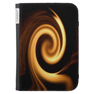 Fire Swirl Kindle Cover