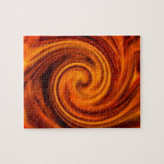 Fire Swirl Large Puzzle