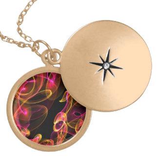 Fire Swirl Necklace
