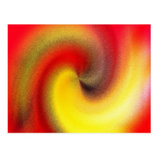 Fire Swirl Postcard