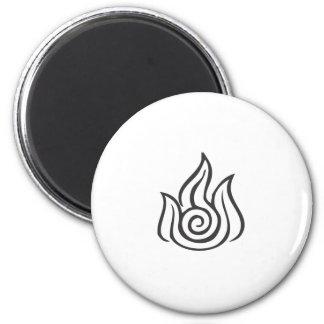 Fire Symbol Refrigerator Magnet