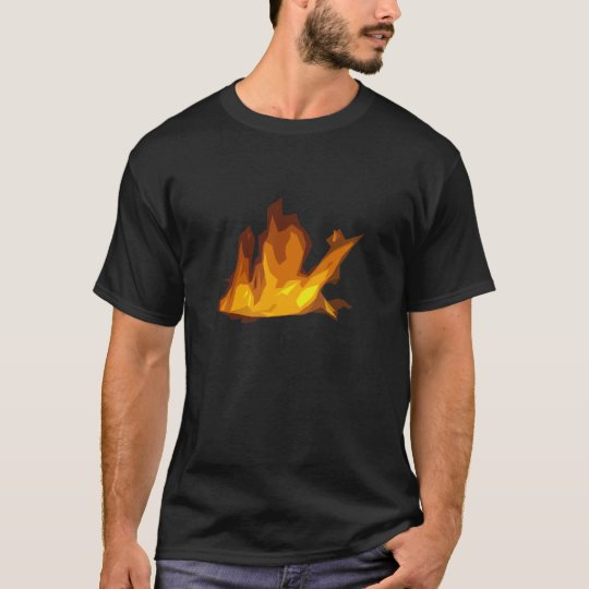 Fire T-Shirt - Black