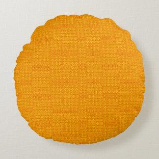 Fire Texture Designer Round Pillows