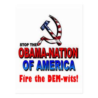 Fire the Dem-wits Postcard