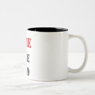FIRE THE FED Two-Tone COFFEE MUG