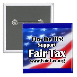 Fire the IRS! Fair Tax Button