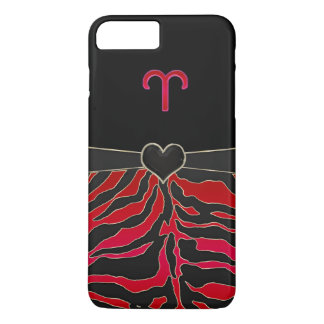 Fire Tiger Zodiac Sign Aries iPhone 8 Plus/7 Plus Case