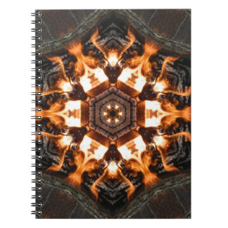 Fire tiles note books