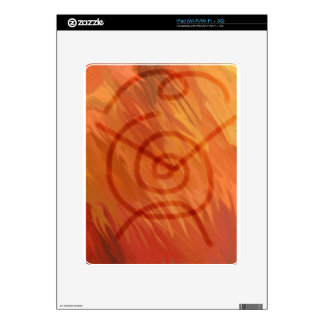 Fire Totem Decals For iPad