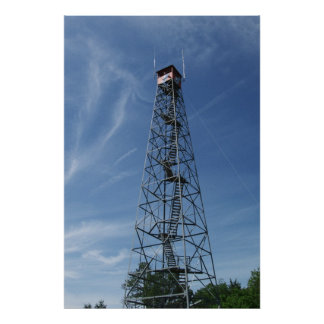 Fire Tower Poster