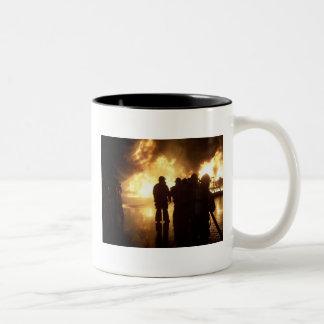 Fire Training Two-Tone Coffee Mug