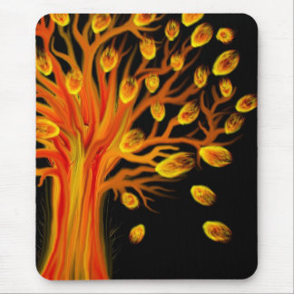 Fire Tree Mousepad