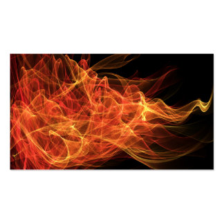 Fire Triangle Double-Sided Standard Business Cards (Pack Of 100)