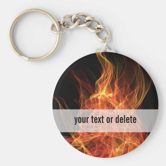 Fire Triangle Keychain
