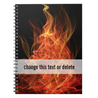 Fire Triangle Notebook