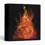 Fire Triangle Vinyl Binders
