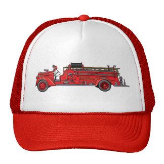 Fire Truck_02 Mesh Hat