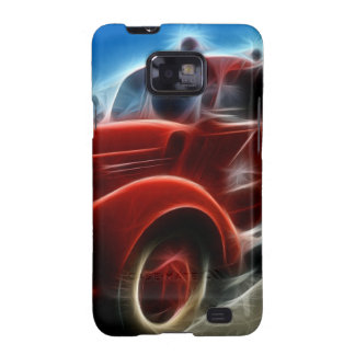 fire-truck-68276 DIGITAL REALISM HOT TRANSPORTTION Galaxy SII Cover