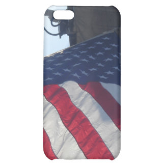 Fire Truck American Flag Aerial Tower iPhone 5C Cases