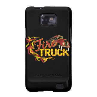 Fire Truck Barely There Case Galaxy S2 Covers