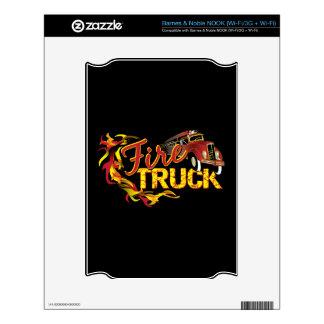 Fire Truck Barnes & Noble NOOK Skin