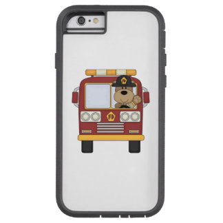 Fire Truck Bear Tough Xtreme iPhone 6 Case