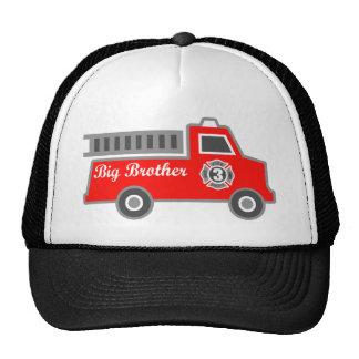 Fire Truck Big Brother Trucker Hat
