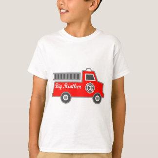 Fire Truck Big Brother T-Shirt