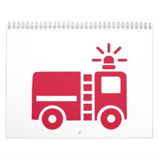 Fire truck calendar
