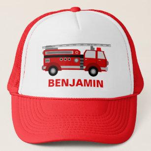 e3670831d Fire Truck Firefighter Kids Trucker Hat