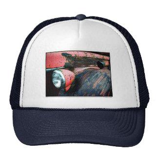 Fire Truck Mesh Hats