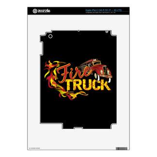 Fire Truck ipad Skin