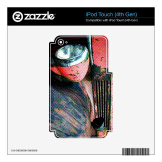 Fire truck iPod Touch skin