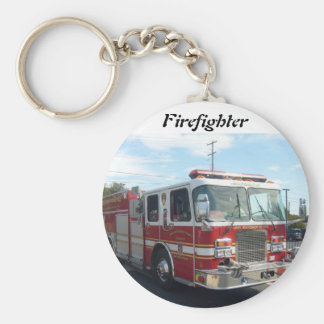 fire truck key chain