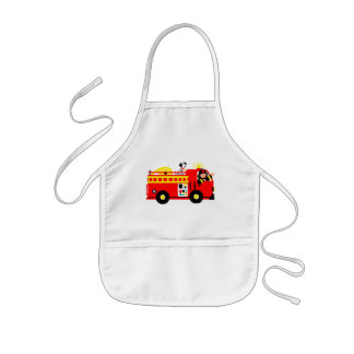 Fire Truck Kids' Apron