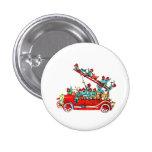 Fire Truck Kids Button