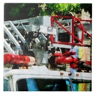 Fire Truck Ladder Ceramic Tile