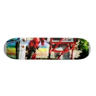 Fire Truck Ladder Skateboard Deck
