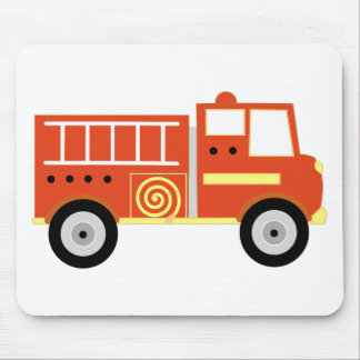 Fire Truck Mouse Pad